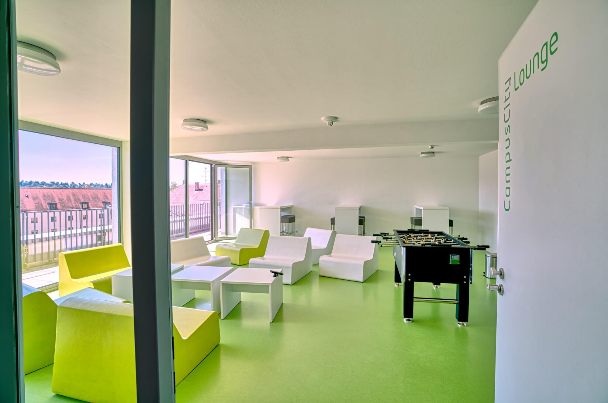 CampusCity, Studentenapartment in Landshut, Studentenwohnheim