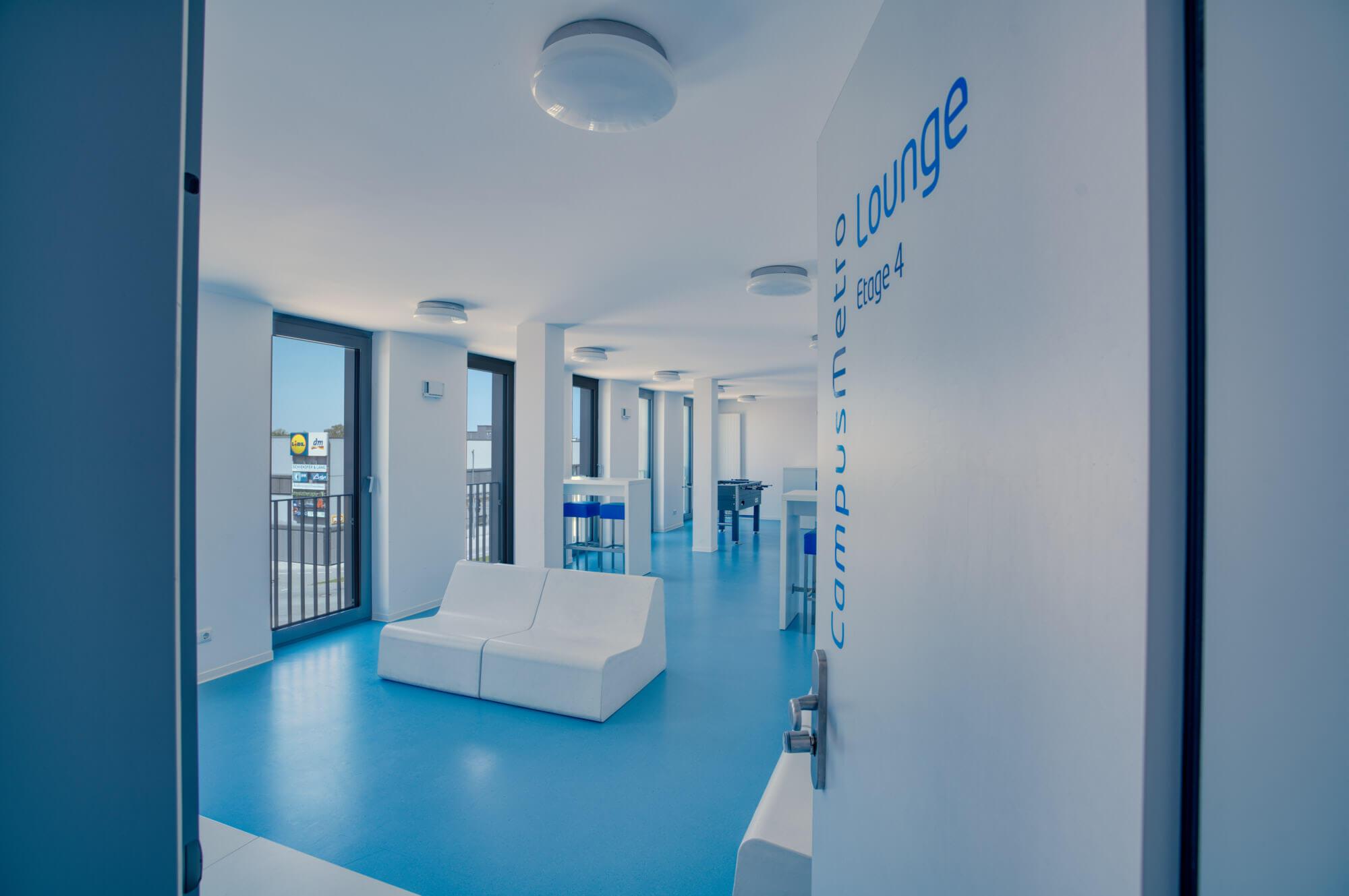 CampusMetro, Studentenapartment in Landshut, Studentenwohnheim, Gemeinschaftsraum